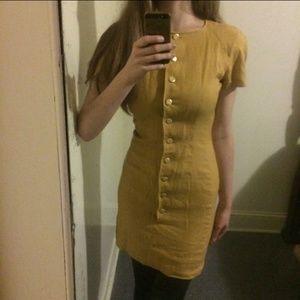 Valentino Mustard dress
